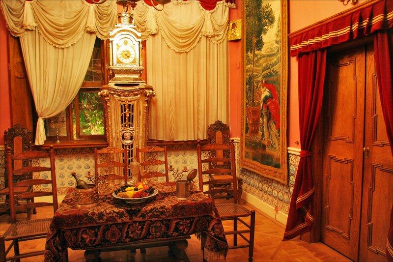 Зимний дворец Петра I, Столовая