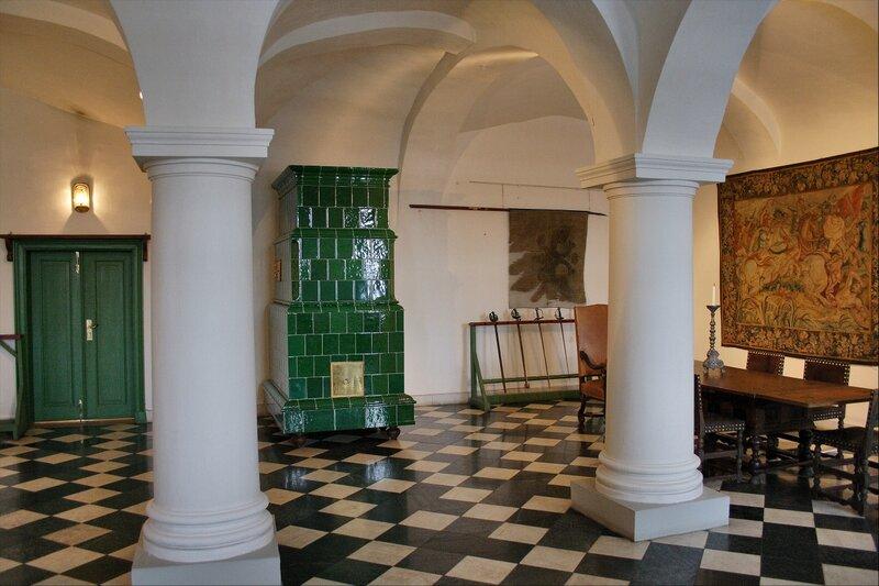 Дворец Меншикова, Кордегардия