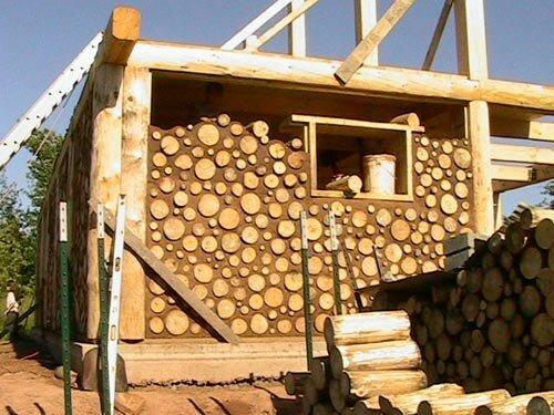 Дом из дров - Построим дом и дачу сами
