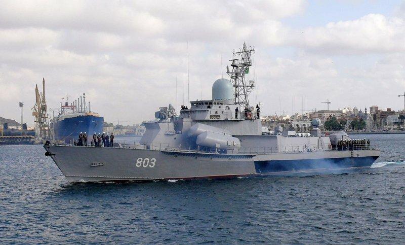 """МРК ВМС Алжира """"Рейс Али"""" пр. 1234Э"""