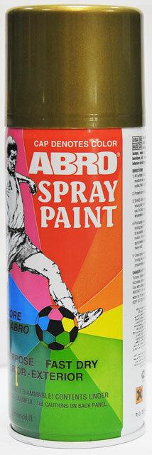 Краска спрей бронза А-027 Abro