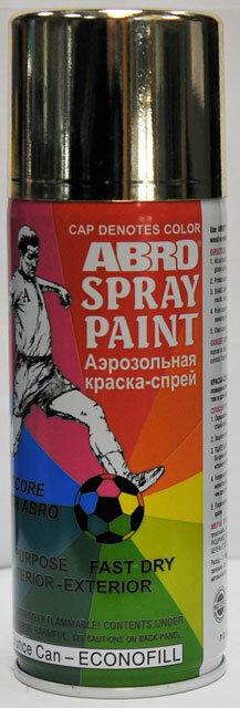Краска спрей золото А-030 Abro