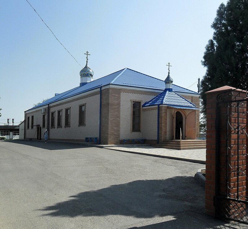 Храм ... В Стародеревянковской, 25 августа 2012, 12:19