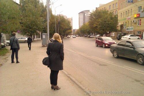 Тюмень остановка Осипенко
