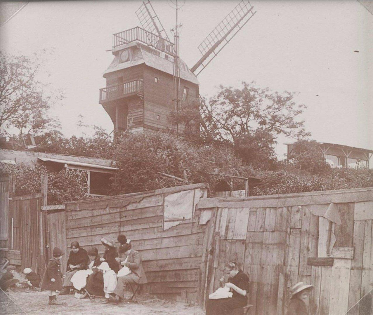 1900. Ле Мулен де ла Галетт, Монмартр