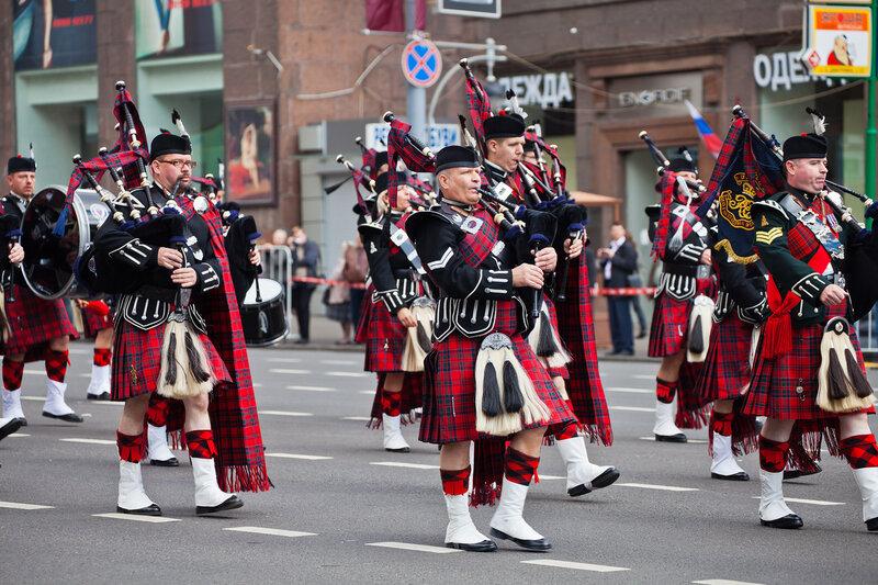 Военный оркестр волынщиков