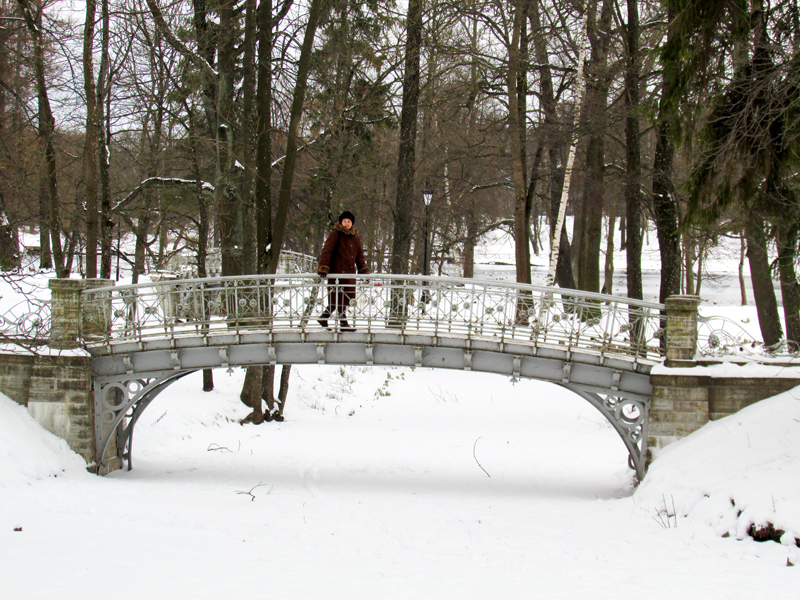 прогулка в Гатчинском парке