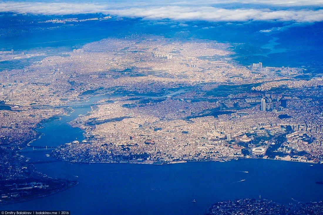Перелёт турецкими авиалиниями в Стамбул