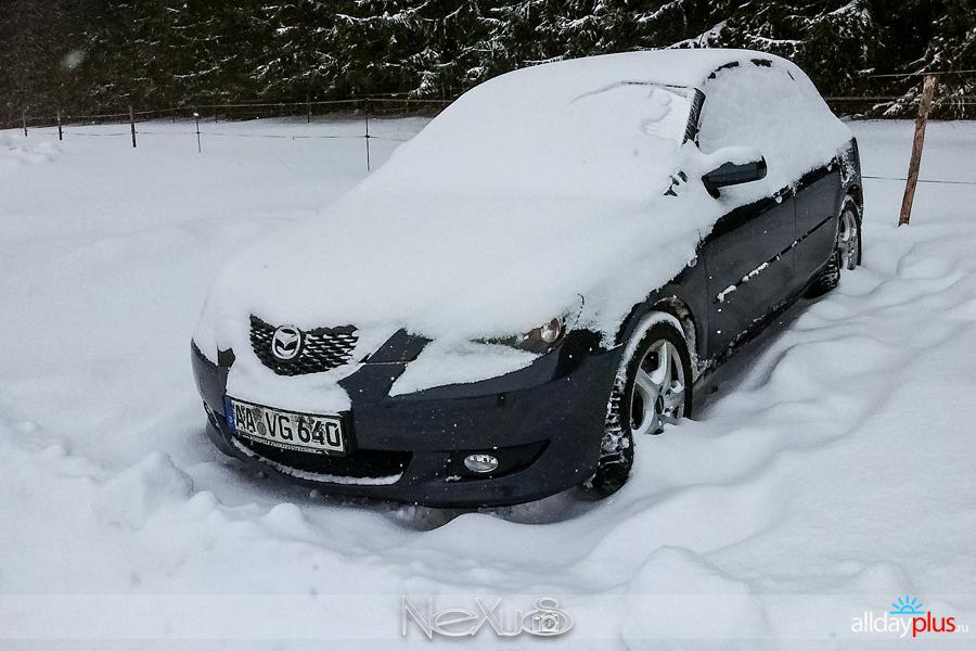 Немного о нашей зиме.