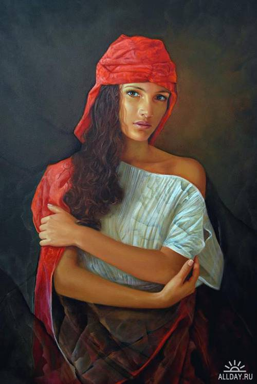 Художник -самоучка из Колумбии- Ramiro Ramirez Cardona