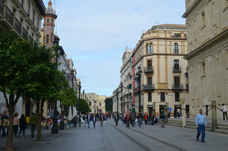 Прогулка по улочкам Севильи