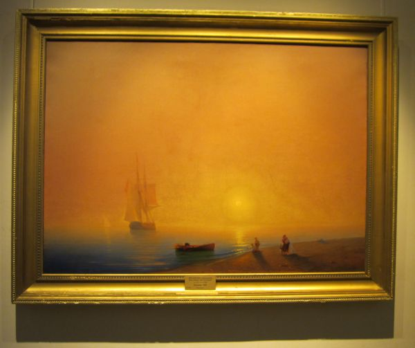 Картина Айвазовского— Прощание