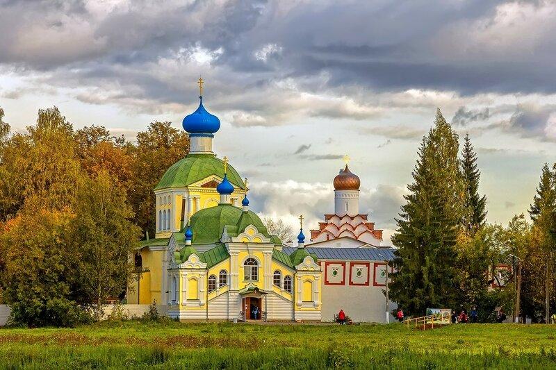 Тихвинский БогородичныйУспенский мужской монастырь