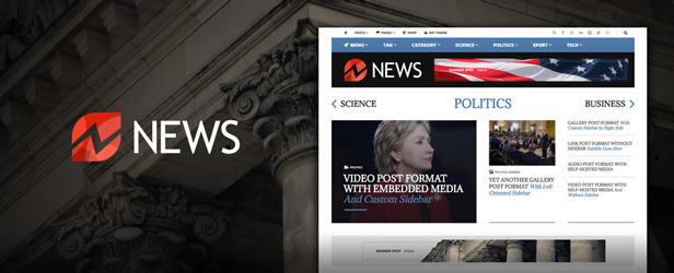 Shockmag - Ad Optimized Magazine WordPress Theme with Powerful Advertisement System - 3