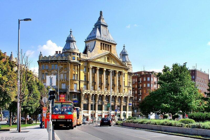 """Дом страхового общества """"Anker"""" в Будапеште"""