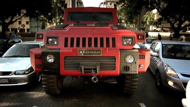 Самый прочный автомобиль в мире Marauder прошел проверку команды Top Gear
