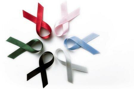 Красная ленточка СПИДа. Символ борьбы со страшной болезнью