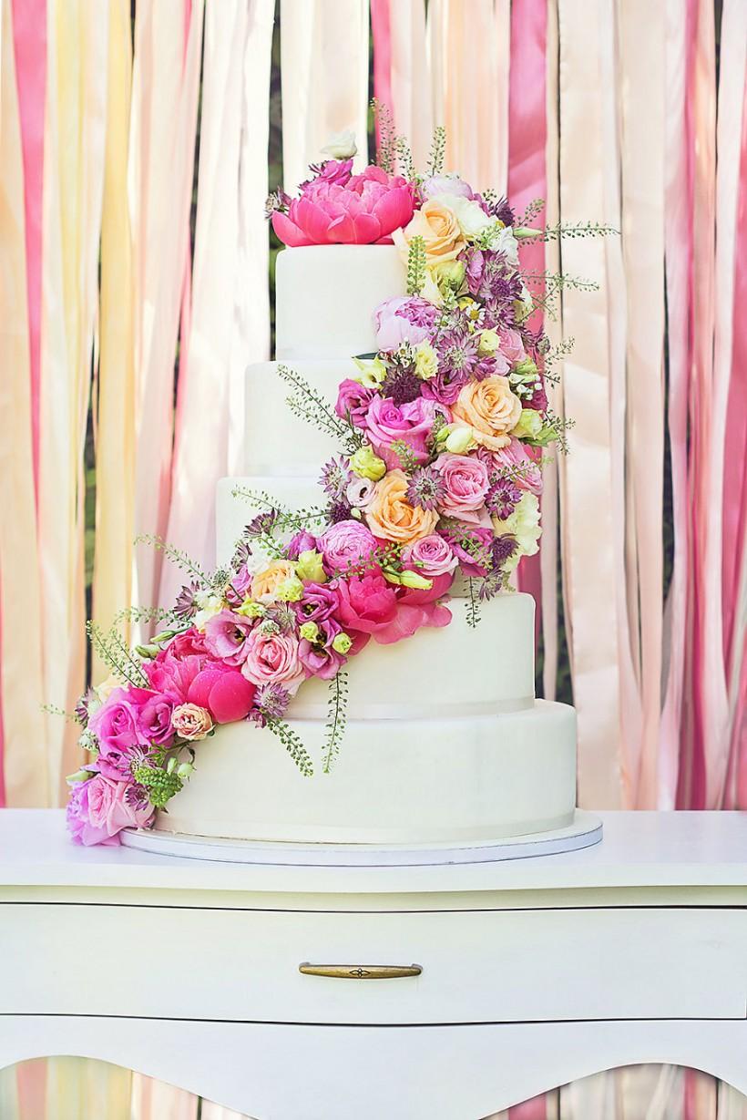 Дизайнерские свадебные торты, которые украсят любую свадьбу (29 фото)