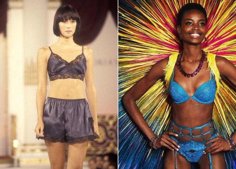 Эволюция шоу Victoria's Secret за последние 20 лет (22 фото)