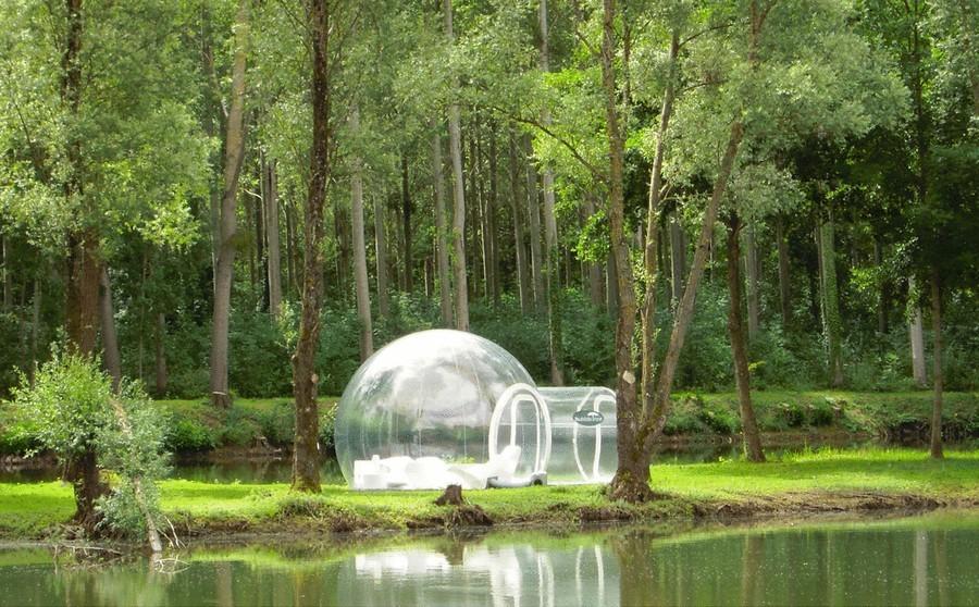 Дизайнеры из Holleyweb (компания по разработке водных шаров-зорбов, надувных аттракционов) представи