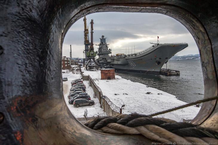 Авианосец «Адмирал Кузнецов» (14 фото)