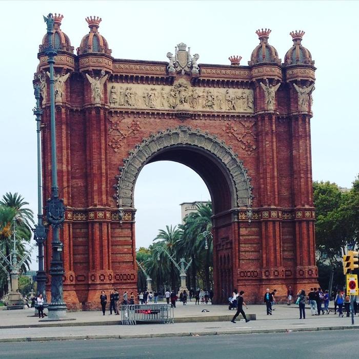 Красивая архитектура Барселоны Instagram фото 2