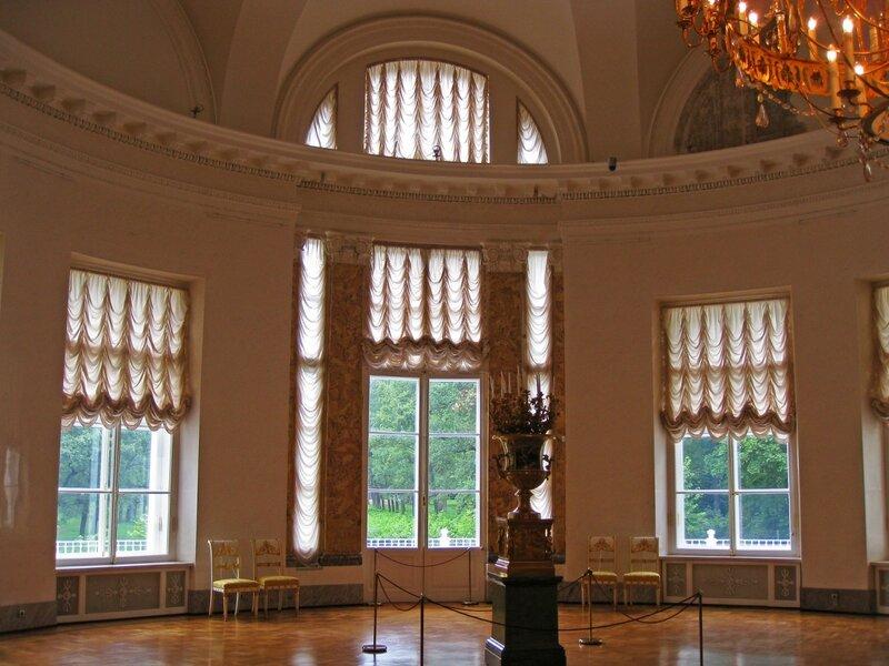 Полукруглый зал, Александровский дворец, Царское Село