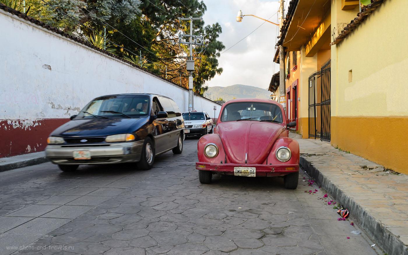 15. На улицах города Сан-Кристобаль-де-Лас-Касас. Как мы путешествовали по Мексике дикарями