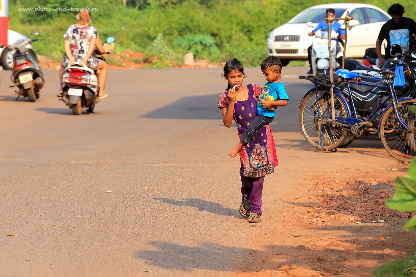 Фото 2. Сценки из жизни жителей Гоа. Отчет о самостоятельном отдыхе в Индии (70-200, 1/200, 0eV,f8, 200mm, ISO 100)