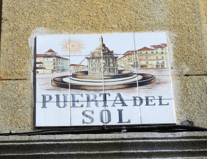 Мадрид (Madrid), Puerta del sol