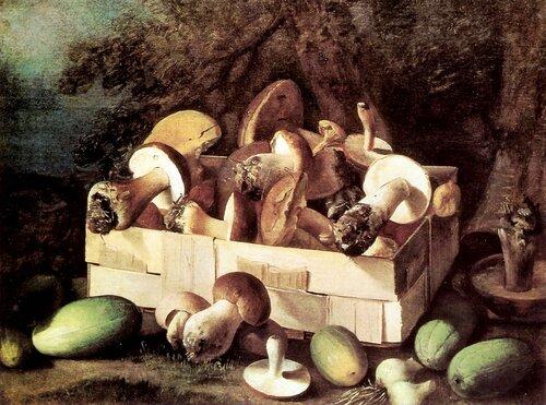 Хруцкий, Иван Фомич (Трофимович) Натюрморт с грибами.( Энц. жи-си).jpg