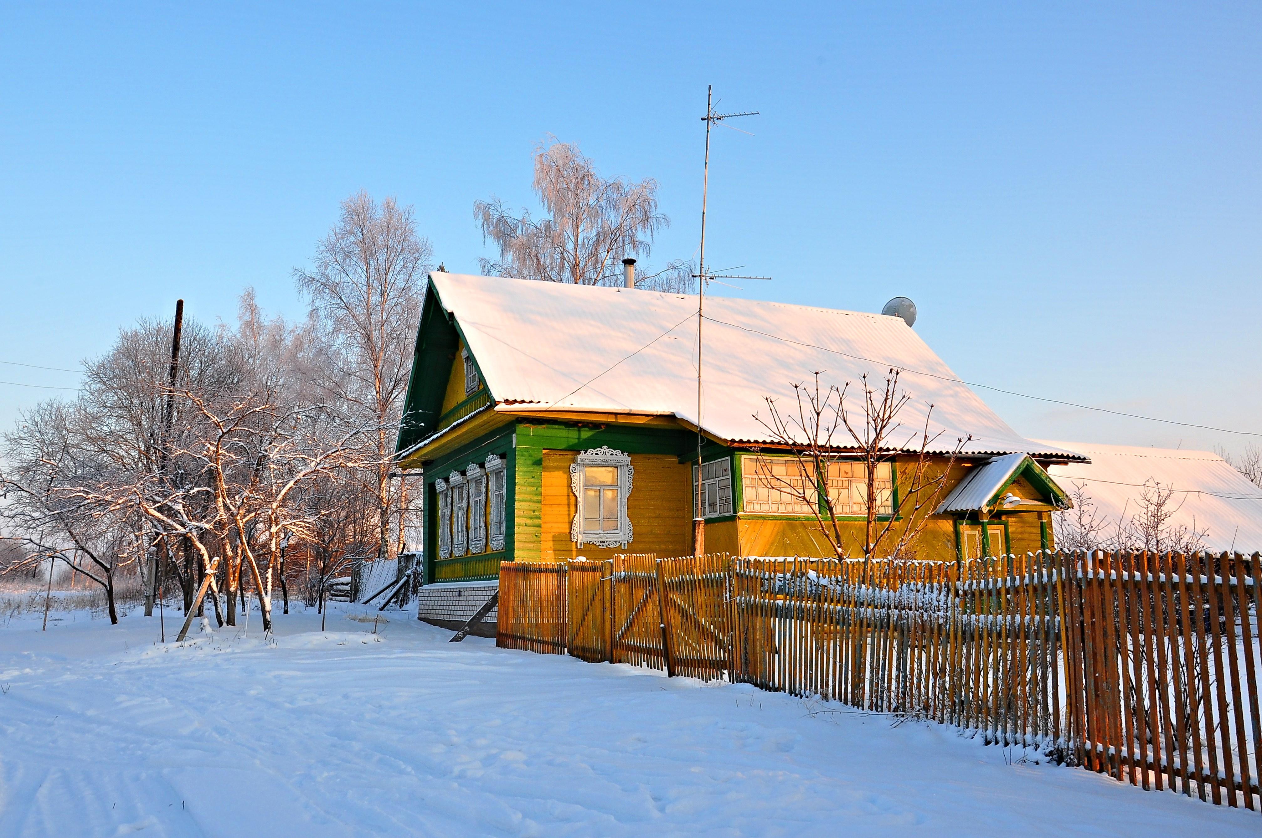 Деревенька Вильяшево