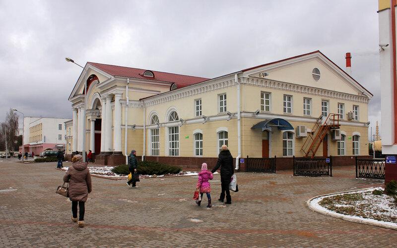 Вокзал на станции Полоцк