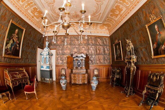 Замок Морицбург. Германия
