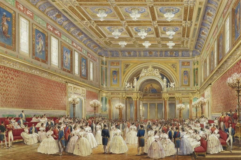 Бальный зал, Букингемский дворец, 17 июня 1856