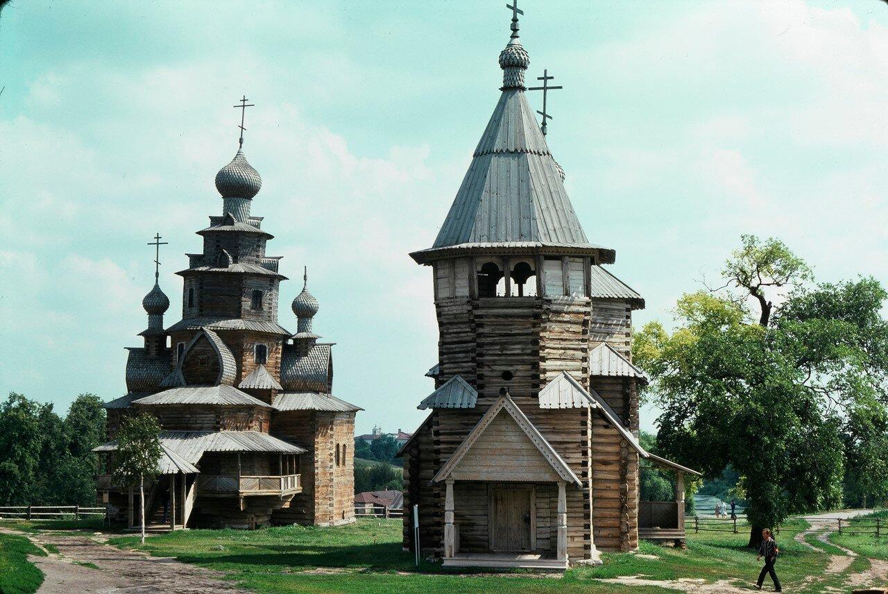 Суздаль. Деревянная церковь