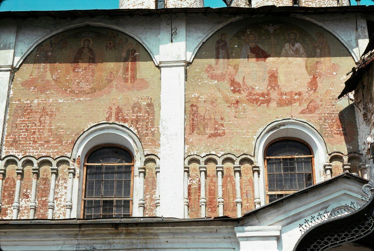Суздаль. Фрески церкви