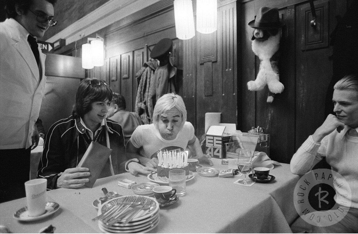1976. Празднование 29-ти летия Игги Попа, Москва, 21 апреля