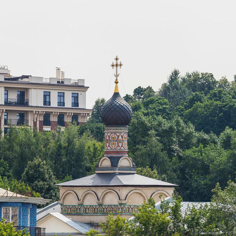 Церковь святого Андрея Стратилата. Андреевский монастырь.