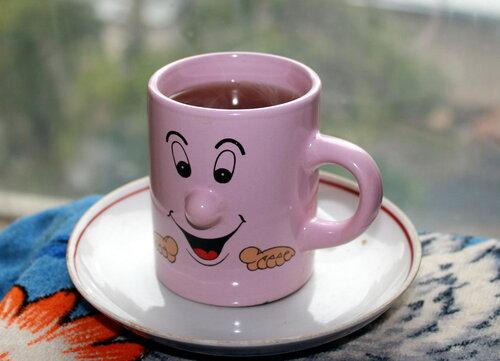 Бокал чая