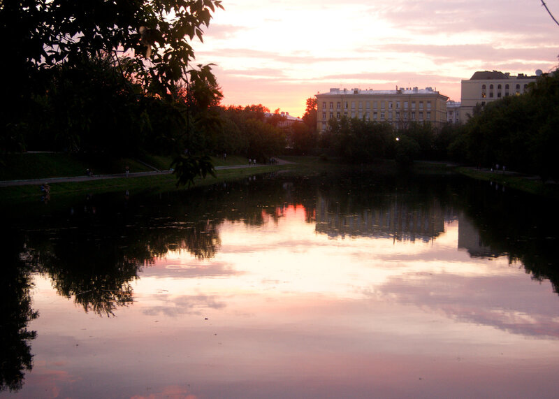 Новоспасский пруд