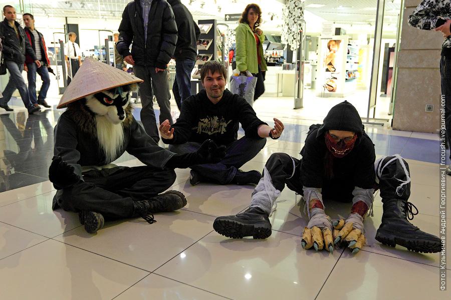 старт продаж World of Warcraft: Mists of Pandaria в Москве 24 сентября 2012 года ТЦ Метрополис