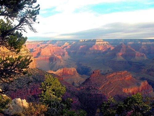 Гранд-каньон. День клонился к закату...