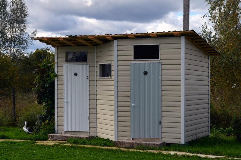 Как построить туалет и душ на даче своими руками поэтапно фото