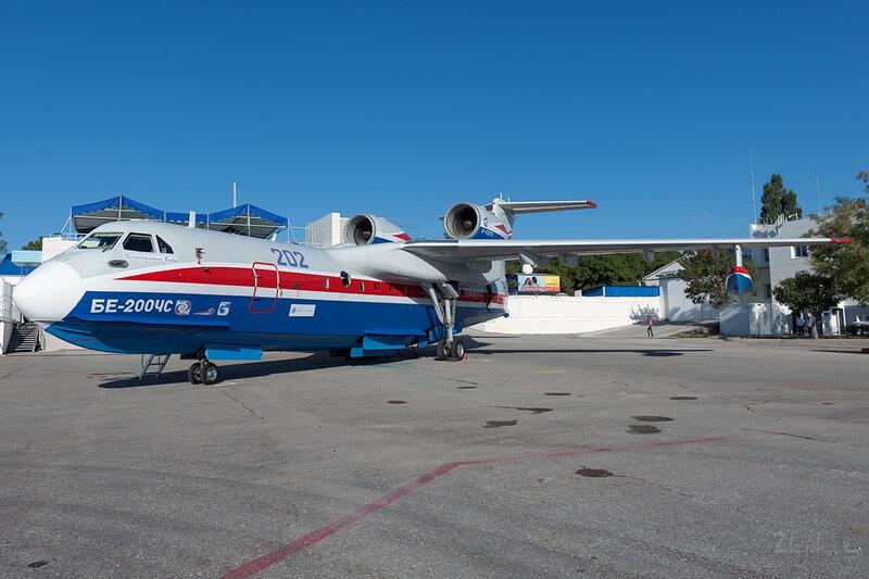 Бериев Бе-200ЧС (RF-21512) ТАНТК Бериева DSC_4367