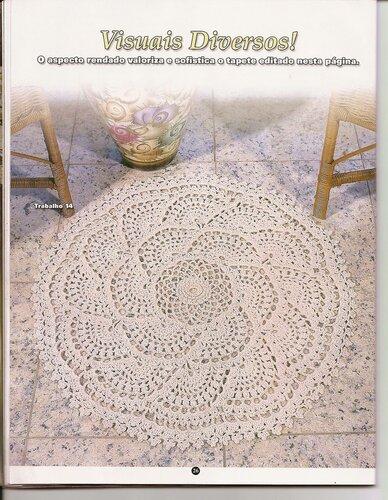 Criando Tapecaria Croche em Barbante - №33