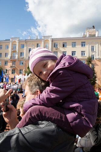 ребенок, девочка Балашиха день города 2012 фотограф Петров Игорь