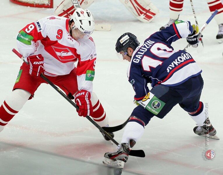 «Торпедо» vs «Спартак» 3:0 чемпионат КХЛ 2012-2013 (Фото)