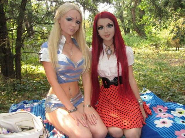 Украинская аниме кукла
