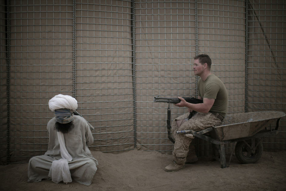 AFP PICTURE OF THE YEAR 2010 A US Marine